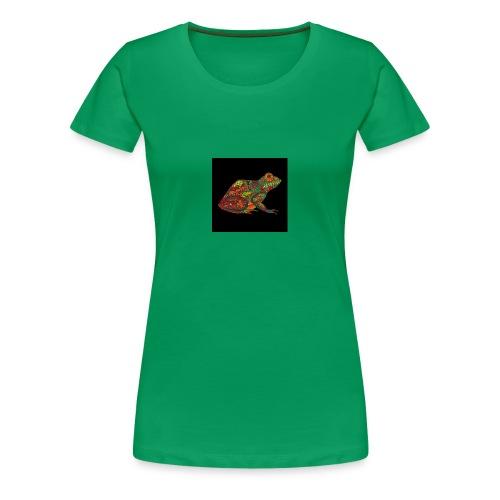 rana - Camiseta premium mujer