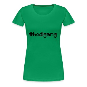 #hodlgang - crypto bitcoin litecoin ethereum shirt - Frauen Premium T-Shirt