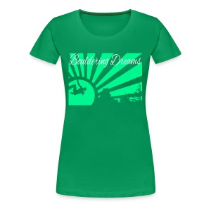 Bouldering Dreams - Frauen Premium T-Shirt