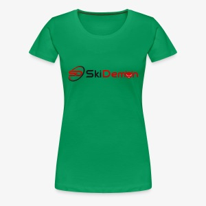 The Ski Demon - Women's Premium T-Shirt