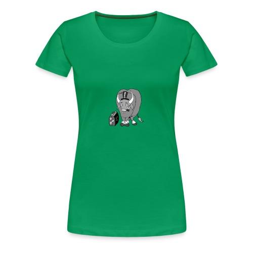 wall street bulls - Frauen Premium T-Shirt