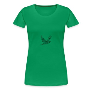 Type Peace - Frauen Premium T-Shirt