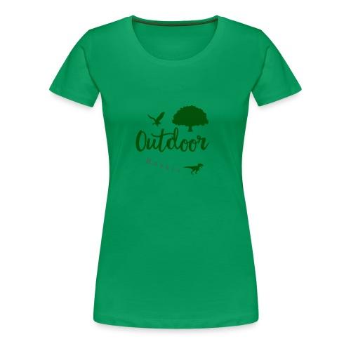Outdoor Rebell - Frauen Premium T-Shirt
