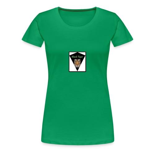 Black Tiger - T-shirt Premium Femme