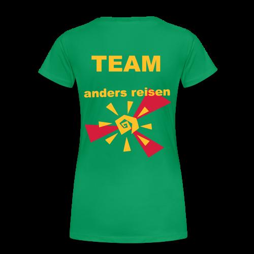 AndersReisen Teamer - Frauen Premium T-Shirt