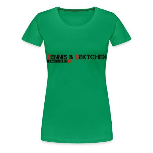 TennisSekt - Frauen Premium T-Shirt