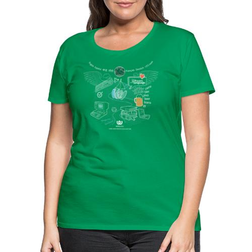 Weblate - Women's Premium T-Shirt
