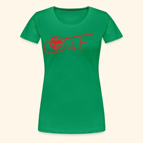 O4F ROSSO - Maglietta Premium da donna