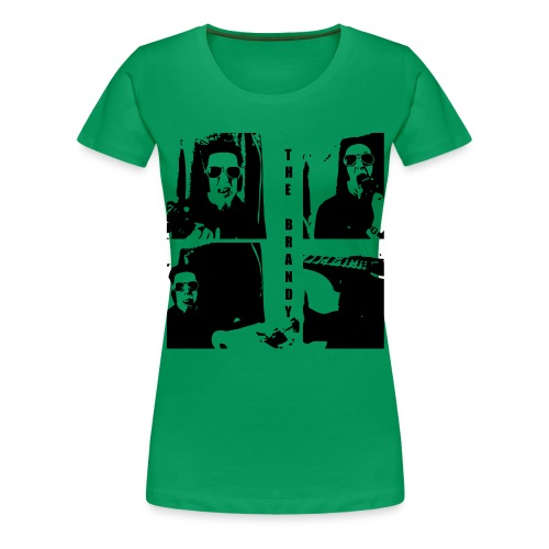 The Brandy 3 - Frauen Premium T-Shirt