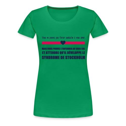 Amour & Stockholm - T-shirt Premium Femme