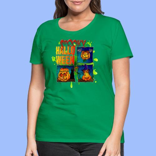 Spooky Halloween - T-shirt Premium Femme