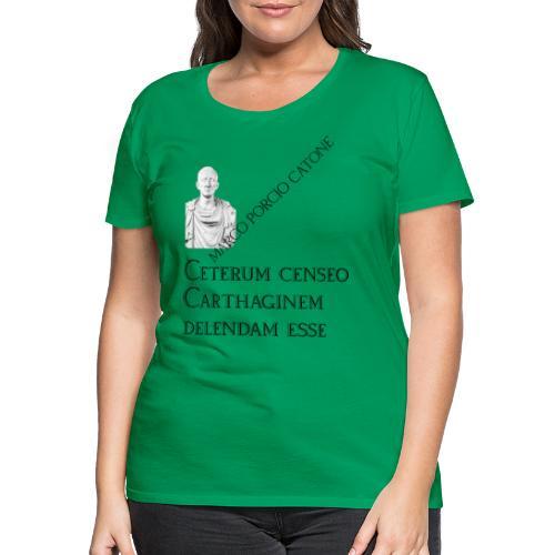 Antica Roma Catone - Maglietta Premium da donna