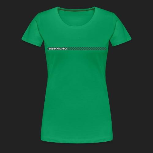 Saberproject Streifen - Frauen Premium T-Shirt
