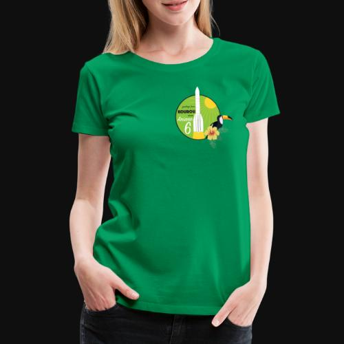 Ariane 6 By Itartwork - Women's Premium T-Shirt