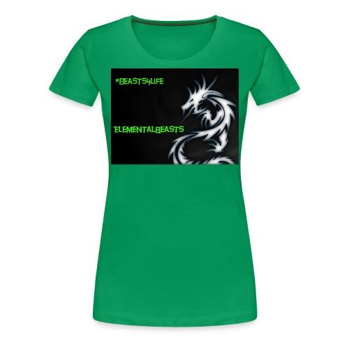 ElementalDragonYT merchandise - Women's Premium T-Shirt