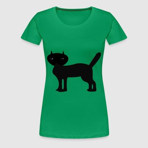 Janus Black Cat - Frauen Premium T-Shirt