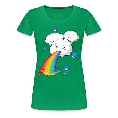 wolke neu png - Frauen Premium T-Shirt