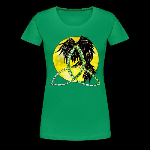 tribalrabe2 - Frauen Premium T-Shirt