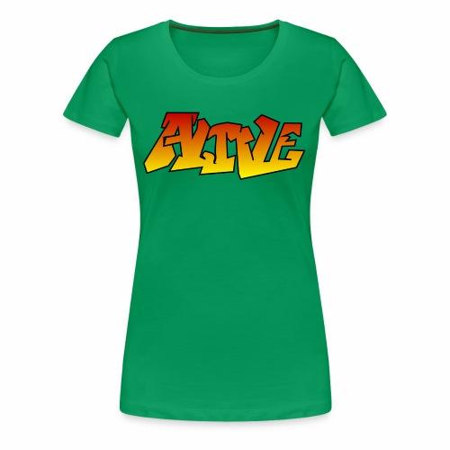 ALIVE CGI - Women's Premium T-Shirt