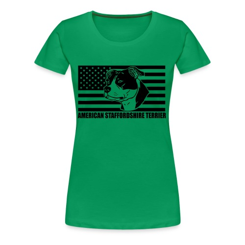 American Stafford © - www.dog-power.nl - Vrouwen Premium T-shirt
