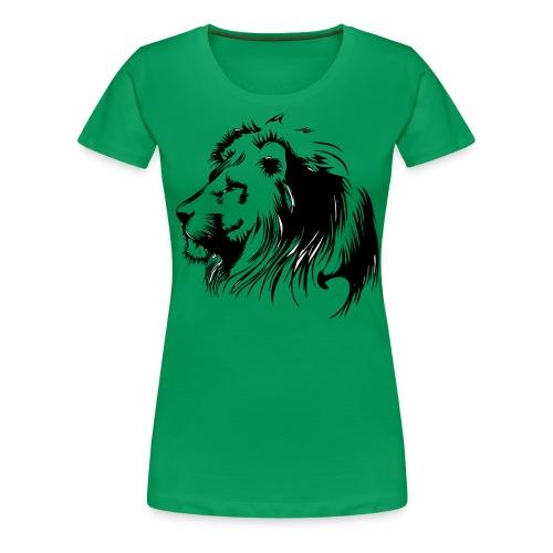 vinilo leon - Camiseta premium mujer