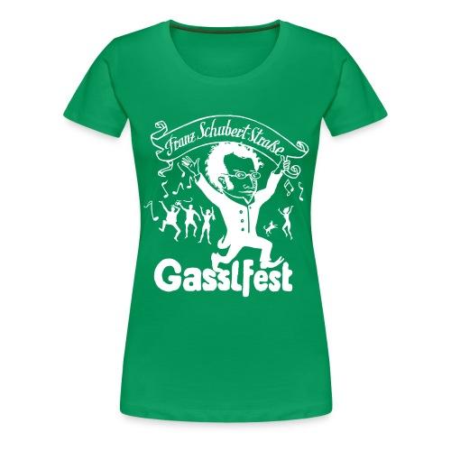 Franz Schubert-Straße Gasslfest - Frauen Premium T-Shirt