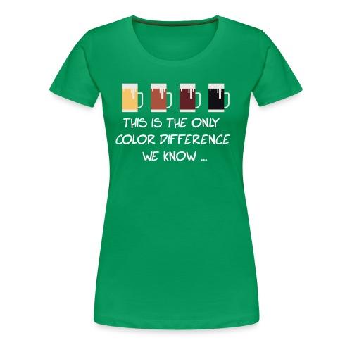 No to racism - Women's Premium T-Shirt