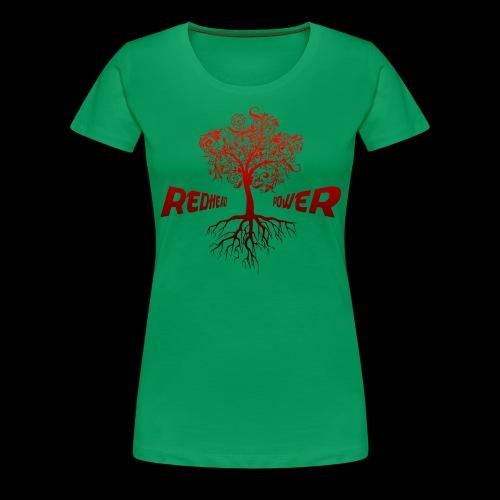 Redhead Power - Frauen Premium T-Shirt