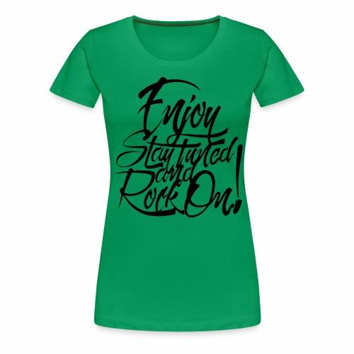 Rock on! - Women's Premium T-Shirt