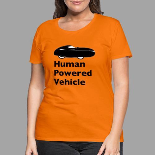 Quest Human Powered Vehicle 2 black - Naisten premium t-paita