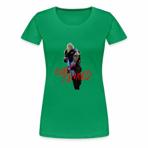 GET TANKED - Premium-T-shirt dam