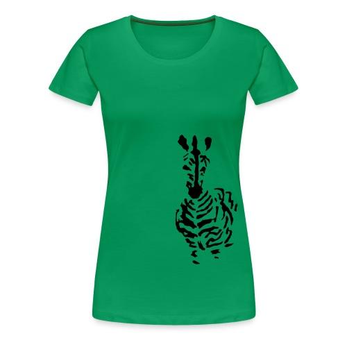 Zebra - Women's Premium T-Shirt