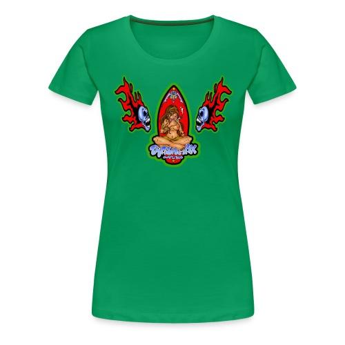 surf 7a - Frauen Premium T-Shirt