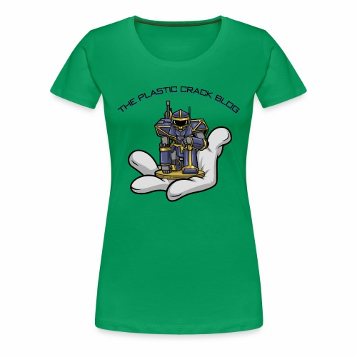 Plastic Crack Blog - Women's Premium T-Shirt
