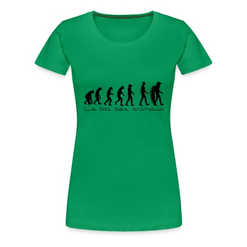 le bal de l'évolution - T-shirt Premium Femme