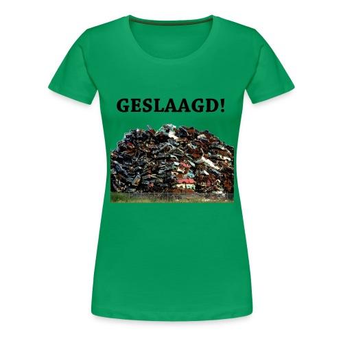 Geslaagd auto s - Vrouwen Premium T-shirt