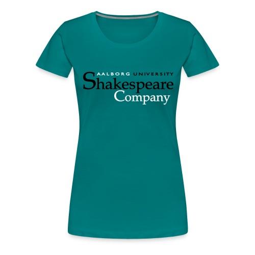 vectorlogo2 - Dame premium T-shirt