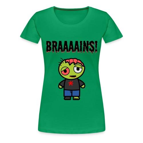 Zombie - Frauen Premium T-Shirt