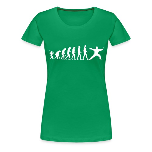 Taijiquan Chen-Style Evolution - Frauen Premium T-Shirt