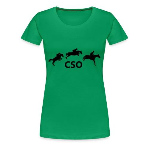 CSO - T-shirt Premium Femme