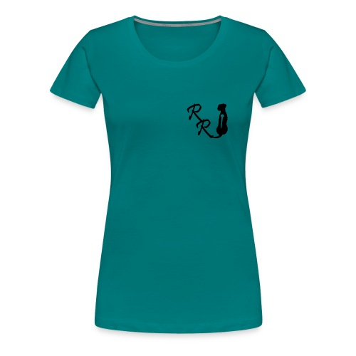 rrlogo kopie - Frauen Premium T-Shirt