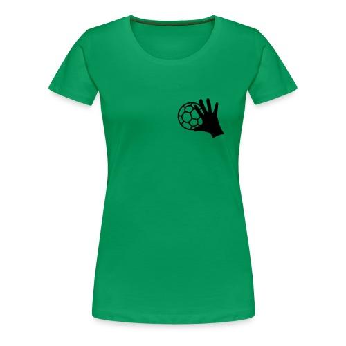 Handballhand - Frauen Premium T-Shirt