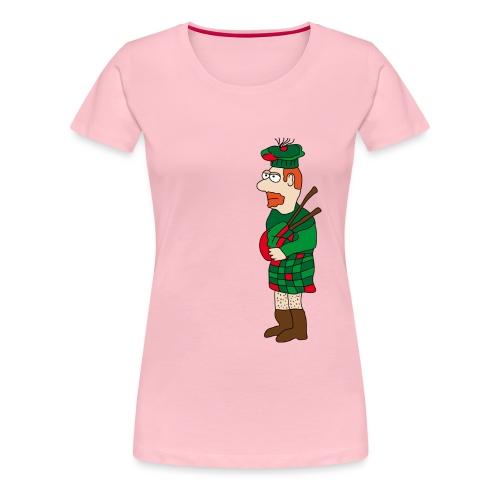 Schotte - Frauen Premium T-Shirt