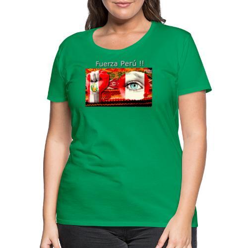 Telar Fuerza Peru I. - Frauen Premium T-Shirt