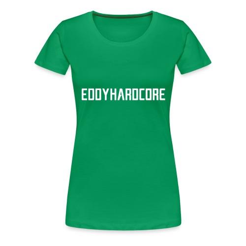 EddyHardcore logo nek transparant png - Vrouwen Premium T-shirt