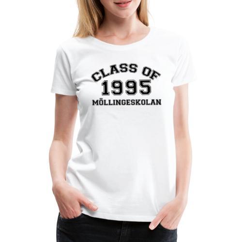 Möllingeskolan 1995 - Premium-T-shirt dam