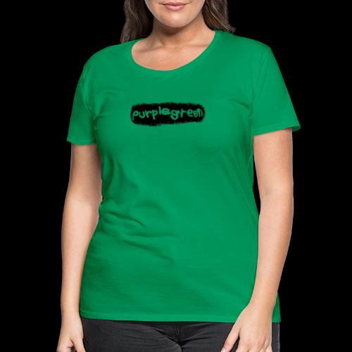 purplegreen Nici - Frauen Premium T-Shirt