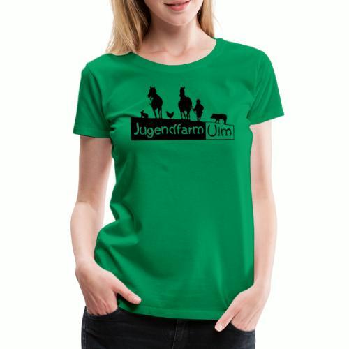 jugendfarm ulm - Frauen Premium T-Shirt