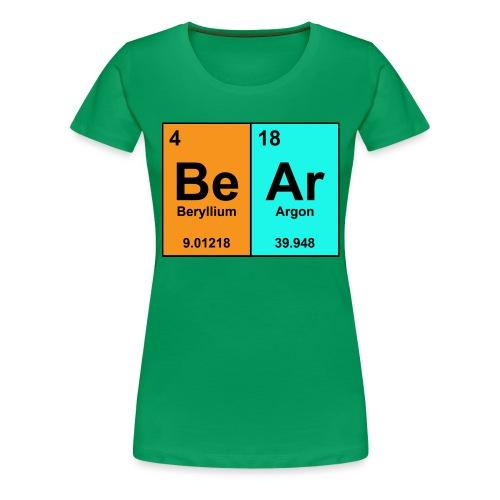 Science Bear Tee - Women's Premium T-Shirt