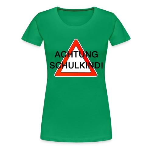 Schulweg - Frauen Premium T-Shirt